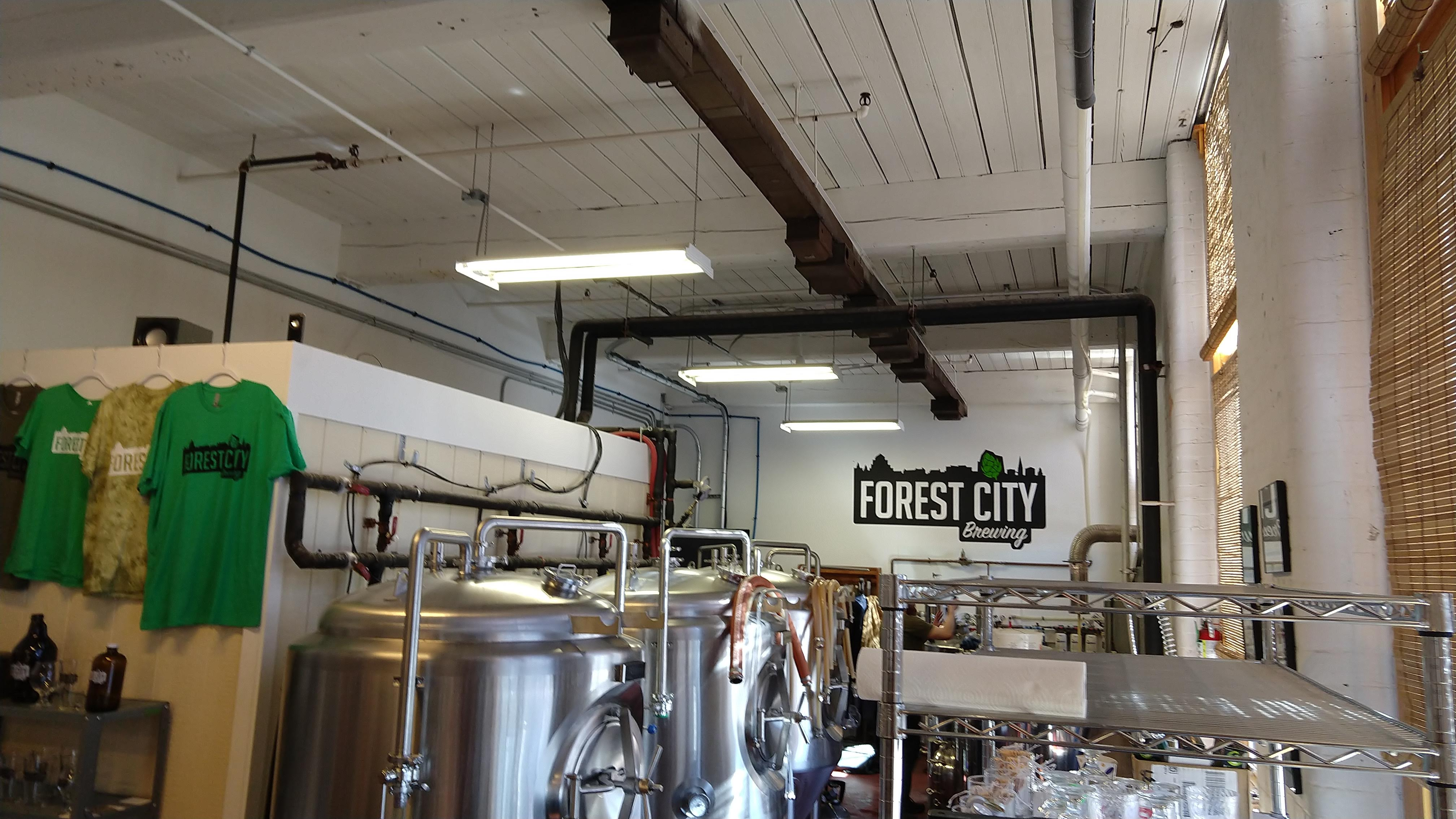Image result for forest city brewing